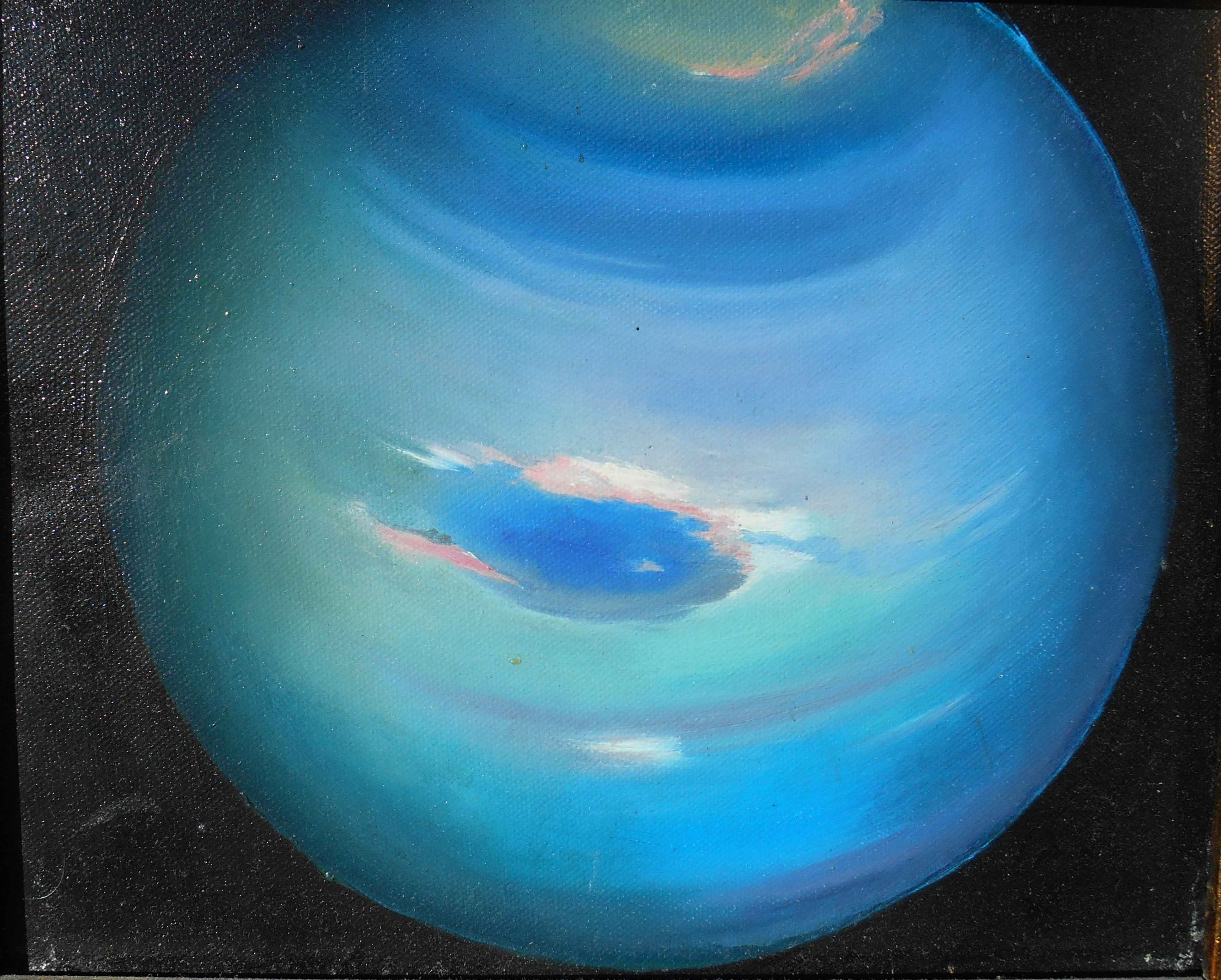 Real Picture Of Neptune Planet