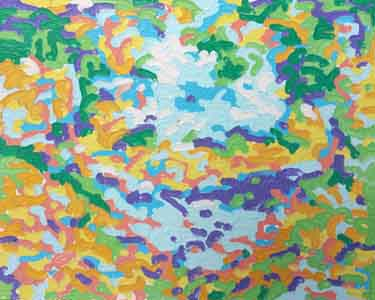 360 Painting of Devou Park by Tom Lohre